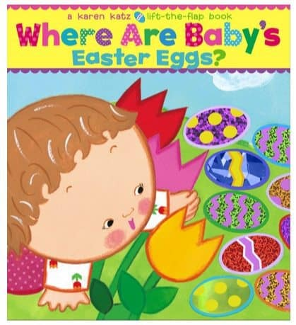 Where Are Baby's Easter Eggs?: A Lift-the-Flap Book Only $3.22