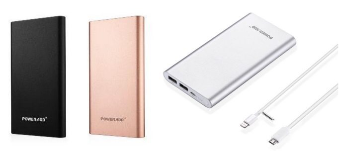 Up to 73% Off Poweradd Pilot 10000mAh Battery Power Banks ~ as low as $10.99 **Today Only**