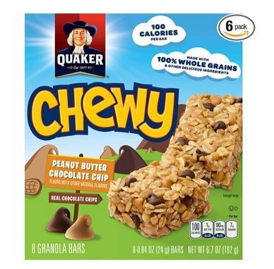6 Quaker Chewy Granola Bars Boxes Only $9.02 Shipped **$1.50 Per 8-Count Box**