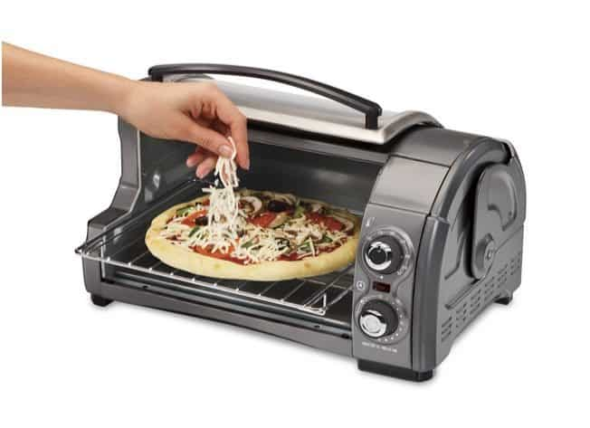 Hamilton Beach Easy Reach Toaster Oven $31.04