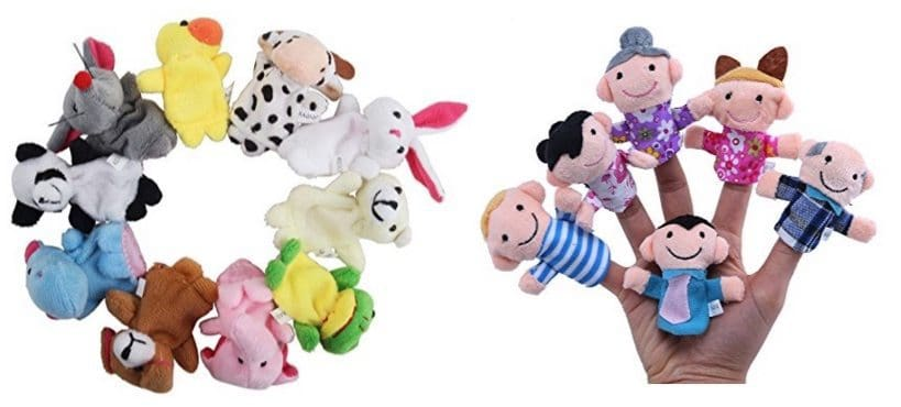 16 Finger Puppets Only $3.88 Shipped