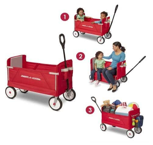 Radio Flyer 3 In 1 Ez Fold Wagon Ride On 61 85 Swaggrabber