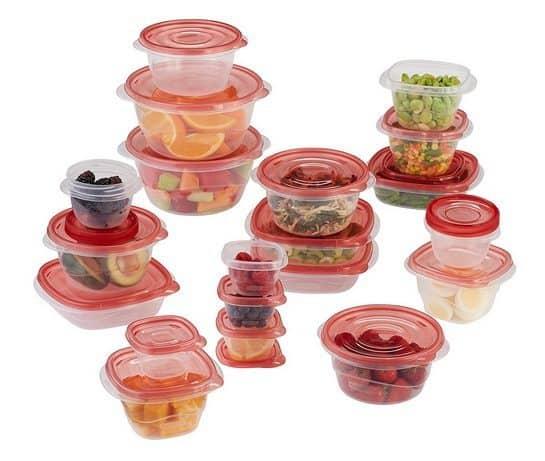 Rubbermaid TakeAlongs 40 Piece Food Storage Set Only $10.99