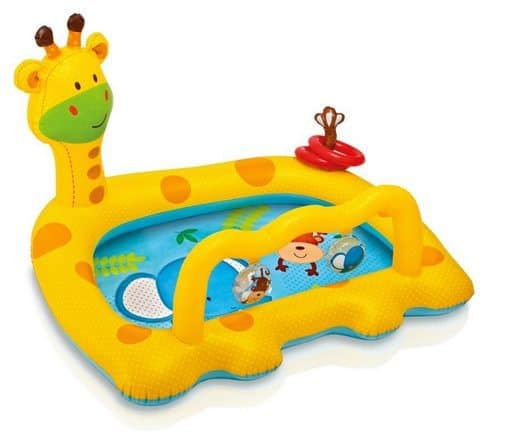 Intex Smiley Giraffe Inflatable Baby Pool Only $8.37