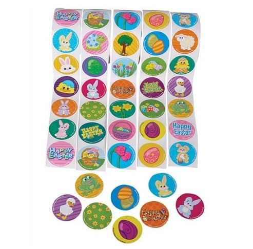 500 Easter Theme Stickers Only $6.99