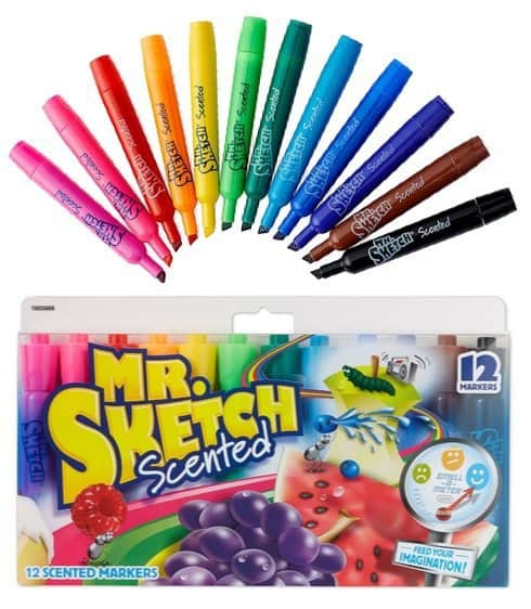 Mr. Sketch Scented Markers 12-Count Only $4.03