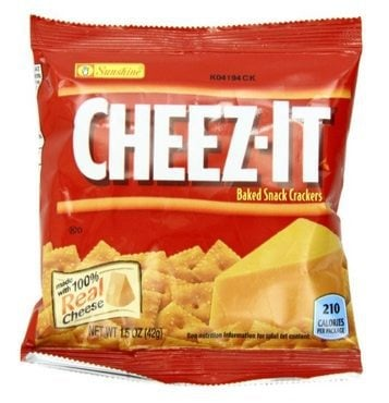 Kellogg's Cheez-It Baked Snack Crackers 36-Count Box $8.20 Shipped **Only 23¢ Each**