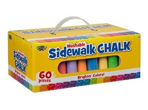 POOF 60pc. Sidewalk Chalk Only $5