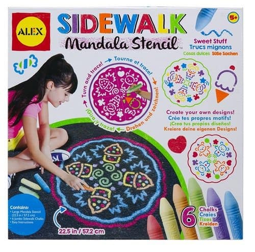 ALEX Toys Artist Studio Sidewalk Mandala Only $5.06