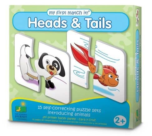 The Learning Journey My First Match It, Head and Tails Only $5.75