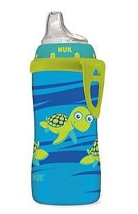 NUK Blue Turtle Silicone Spout Active Cup Only $2.59