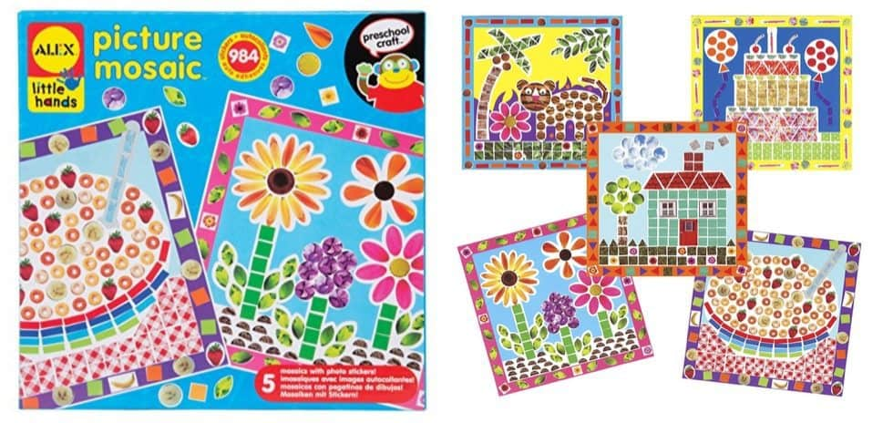 ALEX Toys Little Hands Picture Mosaic Only $5.39
