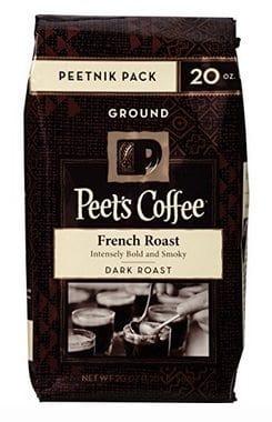 Peet's Coffee Peetnik Pack French Roast 20oz. Bag Only $7.53