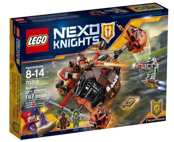 LEGO Nexo Knights Moltor's Lava Smasher Only 11.98
