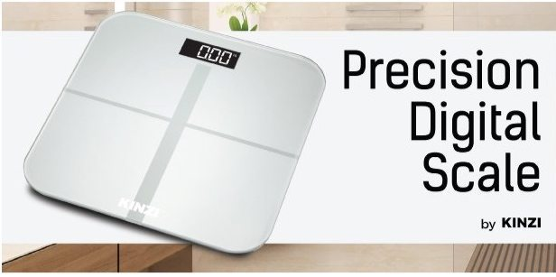 Kinzi Precision Digital Bathroom Scale Only $19.99 (Was $60) **Today Only**