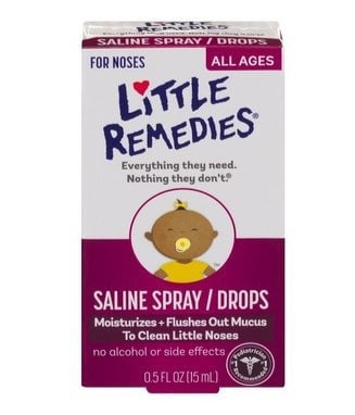 Little Remedies Noses Saline Spray/Drops Only $1.79
