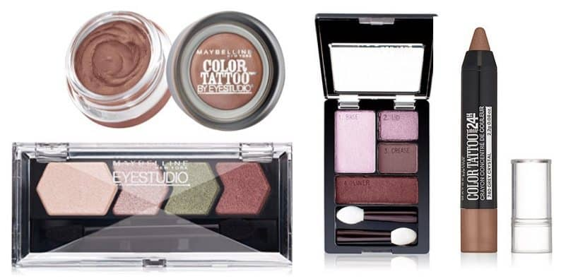 HOT $2 Off Maybelline Eye Shadow Coupon **as low as 99¢**