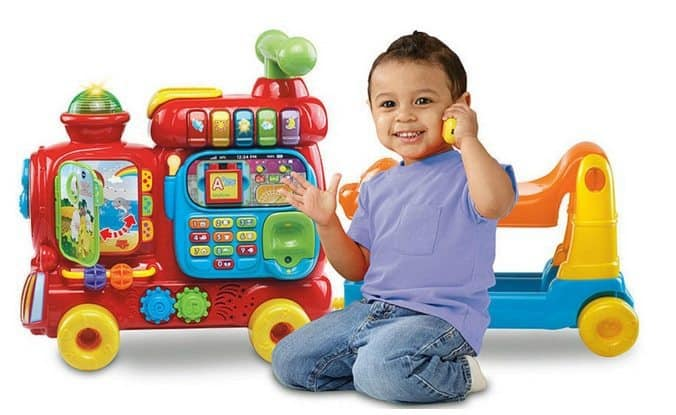 VTech Sit-to-Stand Ultimate Alphabet Train $23.11 (Was $45)