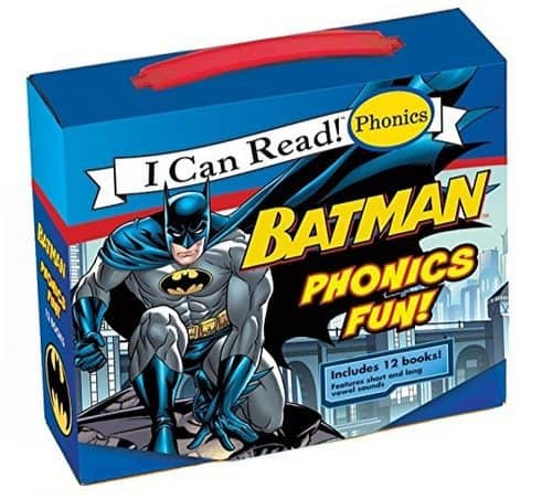 Batman Phonics Fun 12 Book Set (My First I Can Read) Only $5.99