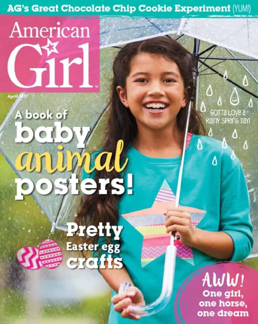 One Year Subscription to American Girl Magazine Only $15.95