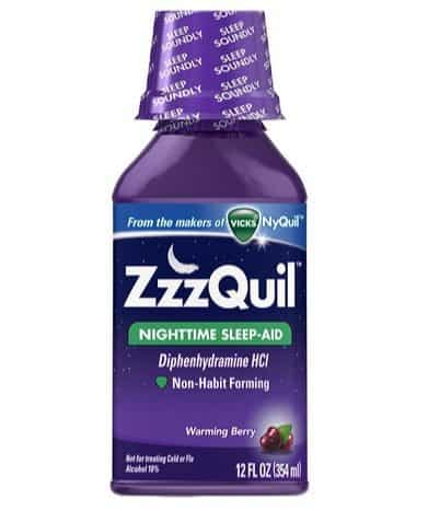 ZzzQuil Nighttime Sleep Aid 12oz Bottle Only $4.40 Shipped