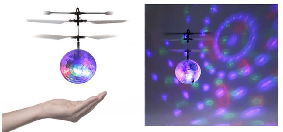 RC Helicopter Ball with LED Lighting Only $7.99