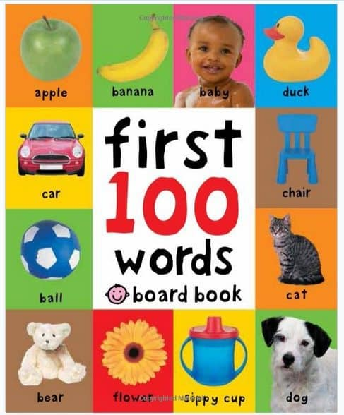First 100 Words Board Book Only $3.92