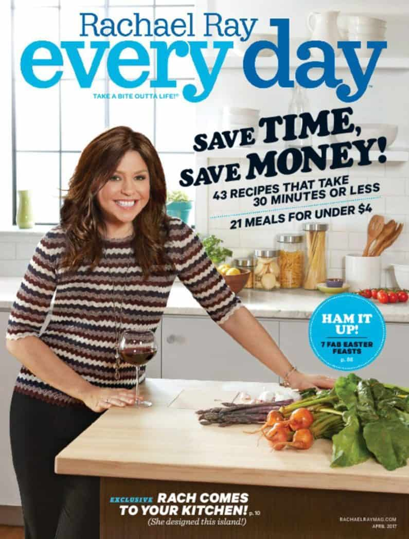 One Year to Every Day with Rachael Ray $4.95<br>**Only 49¢ per issue**