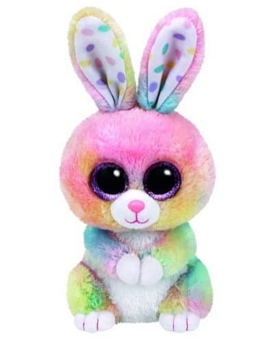 Adorable Ty Bubby Multicolor Bunny Plush Only $5.99