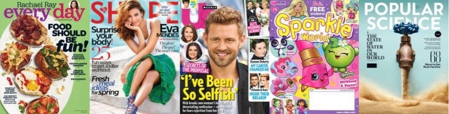 Spring Fling Magazine Sale ~ As low as 19¢ per issue