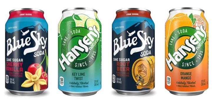 Blue Sky & Hansen's Cane Sugar Soda 24-Packs $9.04 ~ Hansen's Natural 24 Variety Pack Only $8.73