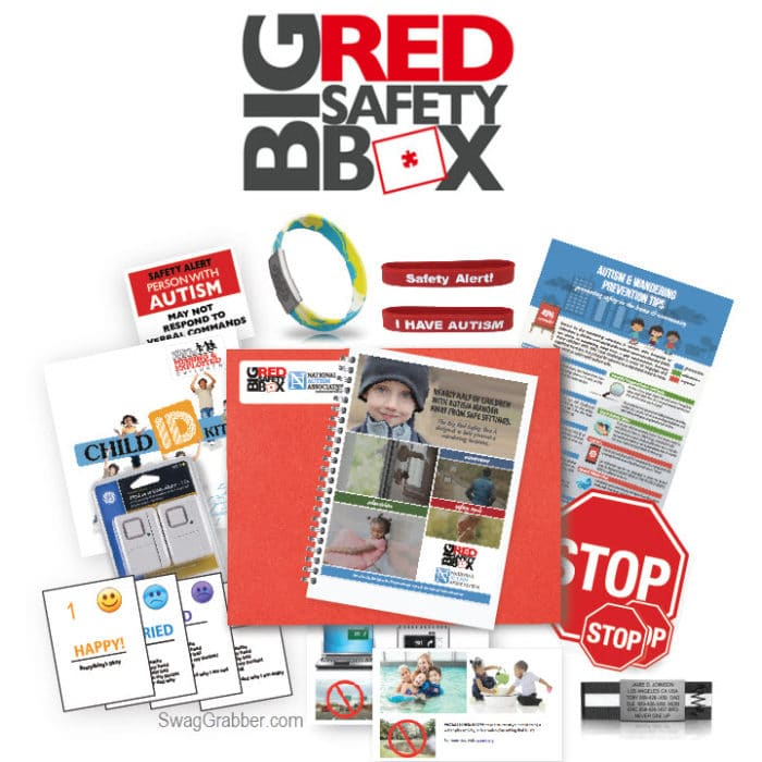 FREE Big Red Safety Box for Autism Caregivers