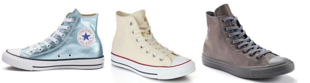 HUGE Discounts on Converse Shoes - High Tops from $18 **HOT**
