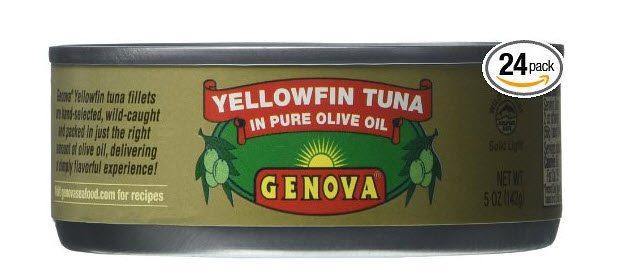 Genova Yellowfin Tuna in Pure Olive Oil $1.33 Each