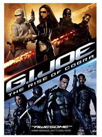 G.I. Joe: The Rise Of Cobra DVD $5.00 - Blu-ray Only $5.23