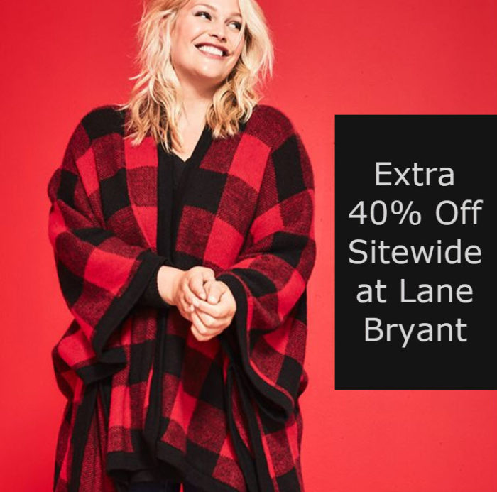 Lane Bryant: Extra 40% off EVERYTHING Sitewide!