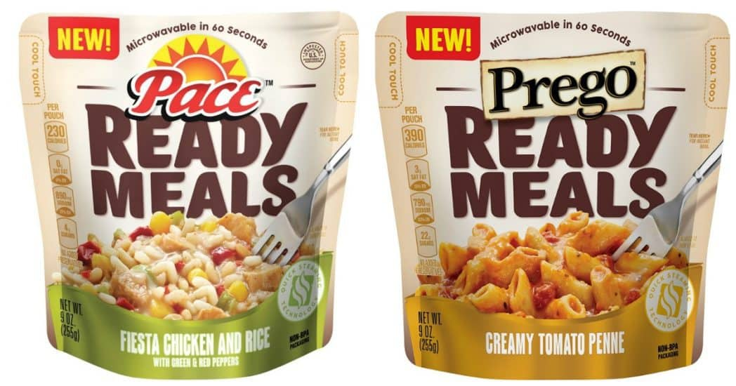 Additional 25% off Campbell's, Pace, and Prego Ready Meals - As Low As $1.16 Each