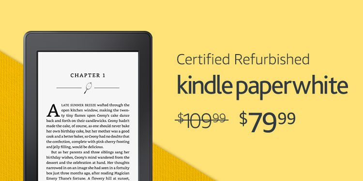 Amazon Kindle Paperwhite Only $79 **Today Only**