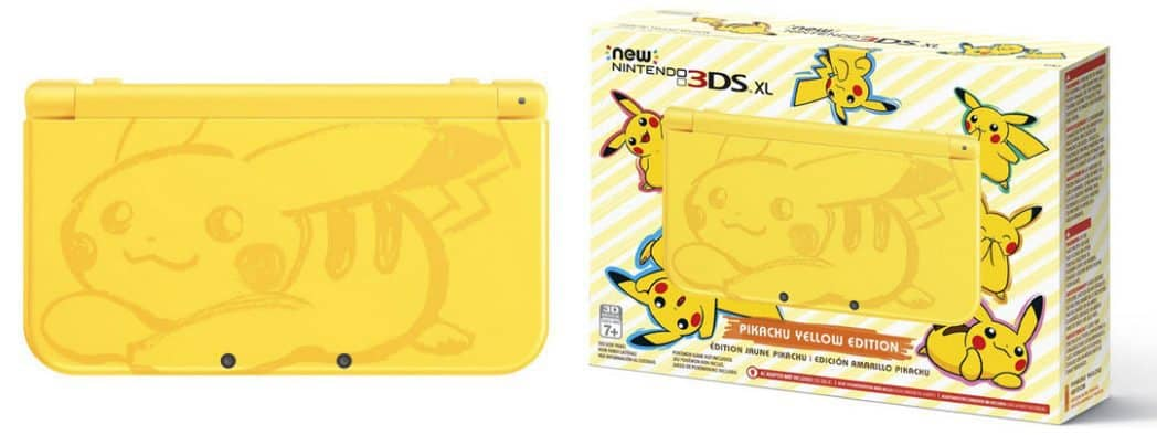 Nintendo Pikachu Yellow Edition New Nintendo 3DS XL Console $199 **IN STOCK**