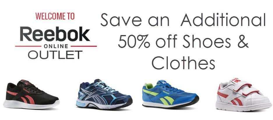 Reebok.com: ADDITIONAL 50% off Outlet Items + Free Shipping on ANY Order = $12.50 Reebok Sneakers!