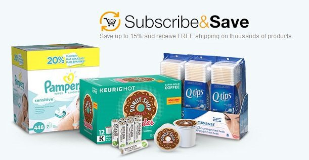 Huge List of Amazon Subscribe & Save Deals