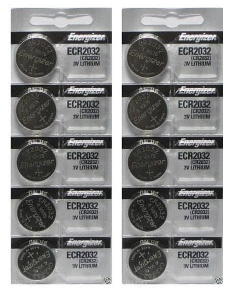 Energizer CR2032 3 Volt Lithium Coin Battery 10 Pack $3.90 (Was $20) *HOT*