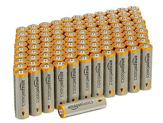 100 Pack of AmazonBasics AA Performance Alkaline Batteries Only $13.75 **Stock Up Time**