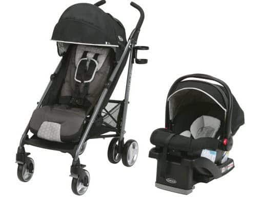 Graco Breaze Travel System Stroller with SnugRide Infant Car Seat $139 (Was $300)