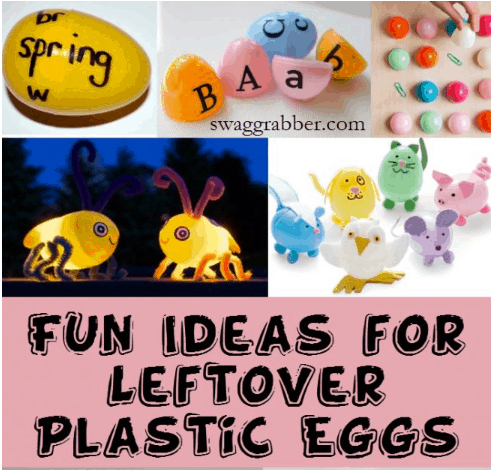 Fun Ideas for Leftover Plastic Eggs