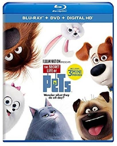 The Secret Life of Pets Blu-ray Combo Only $12.99