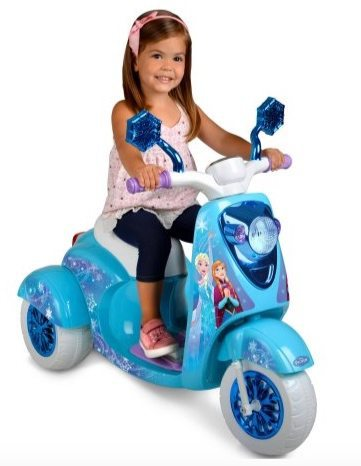 Disney Frozen 6V 3-Wheel Scooter Only $49 (Was $99)