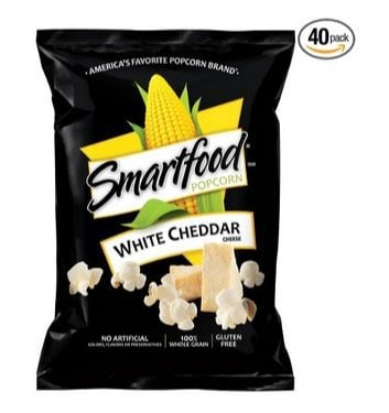 Smartfood White Cheddar Flavored Popcorn 40 Count $11.19 Shipped **Only 28¢ Each**