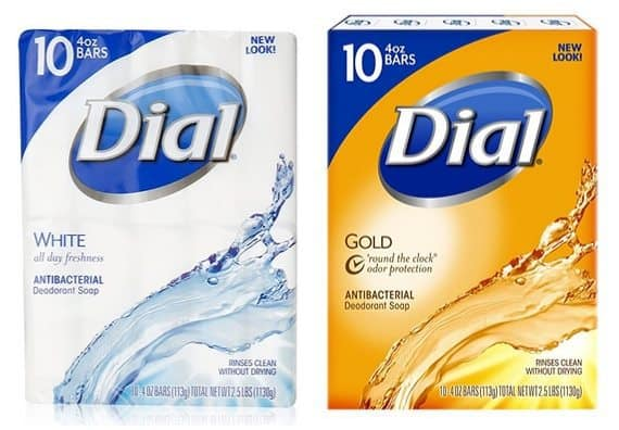 30 Bars of Dial Soap $11.13 Shipped **Only 37¢ Per Bar**