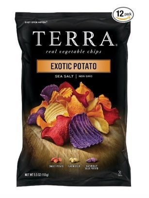 Terra Exotic Potato Real Vegetable Chips 12 Count $22.47 Shipped **Only $1.87 Each**